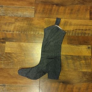 None Holiday - Boot Shaped Christmas Stocking